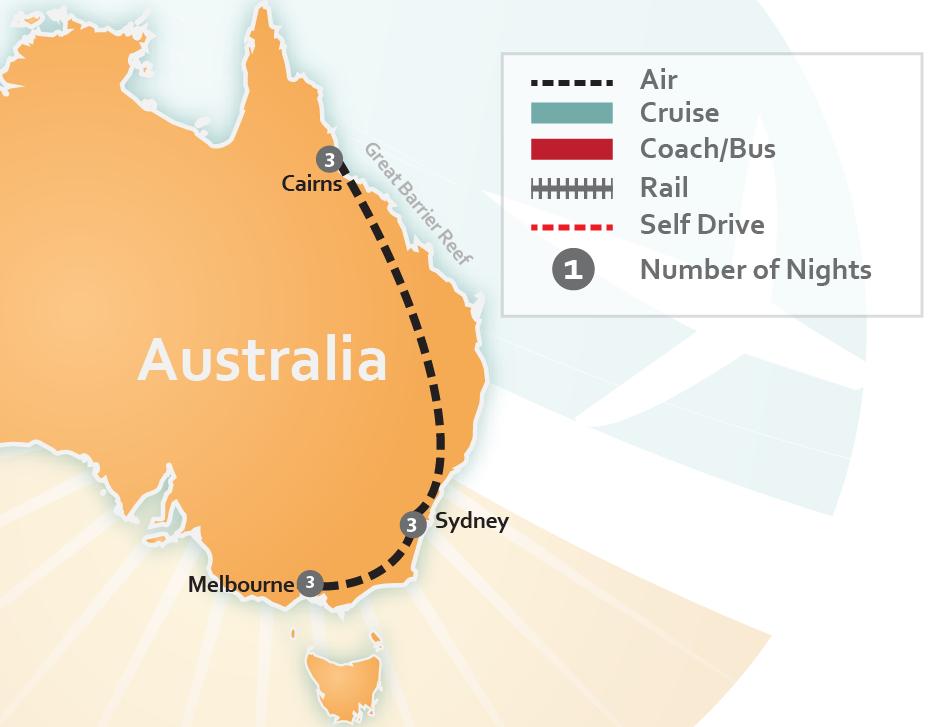 Destinations  Australia – Cairns 5e6141dcc7de2