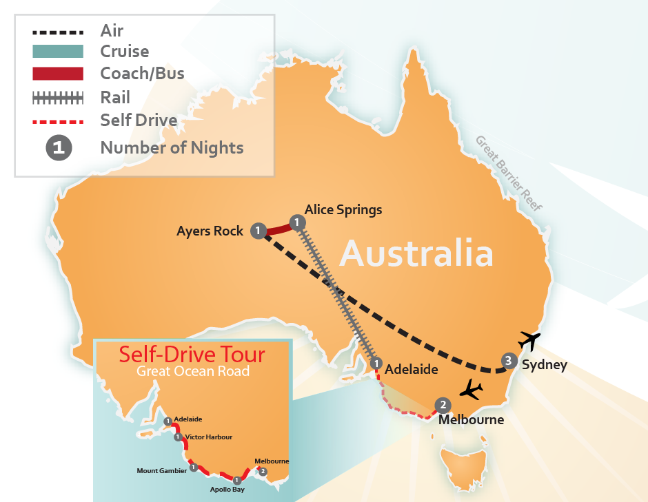 Traveling To New Zealand And Australia