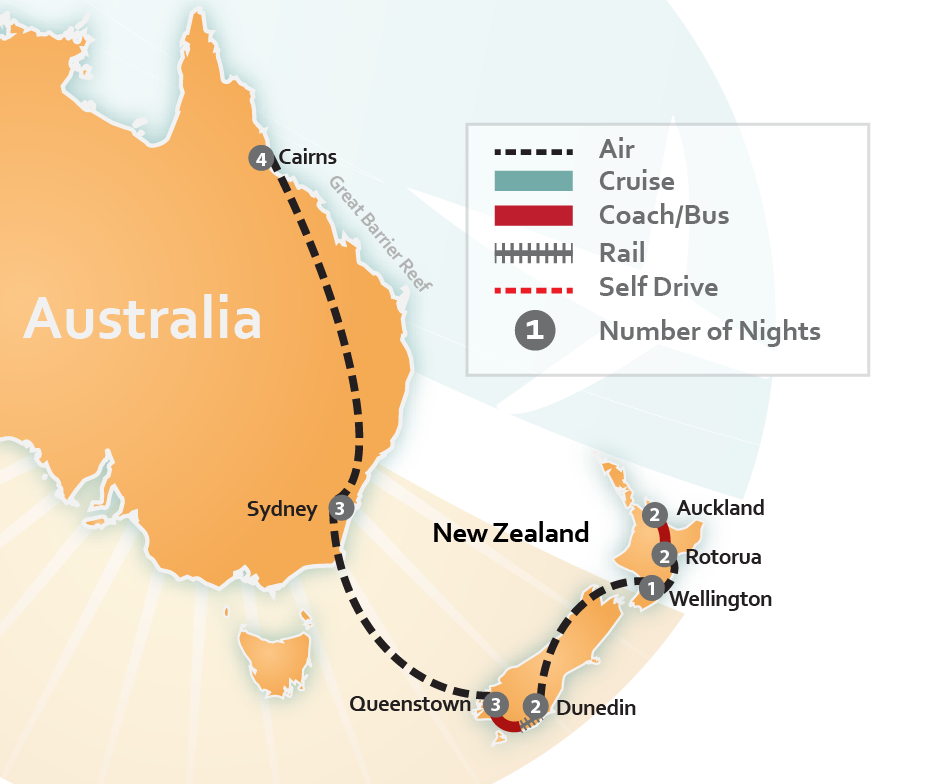 Australia Train Travel Packages