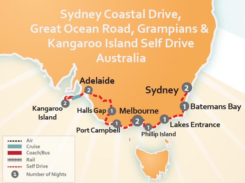 Self Drive Australia  Travel Australia by Car