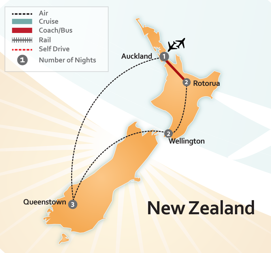 New Zealand Movie Set Tour Package