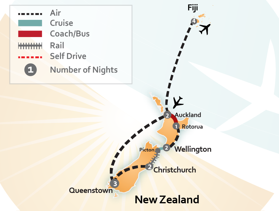 Train Tours of New Zealand | Train Vacation Packages