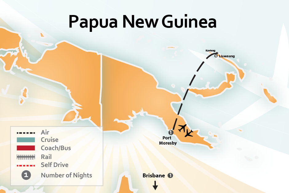 Papua new guinea package deals about papua new guinea destinations papua new guinea port moresby lissenung and brisbane sciox Image collections