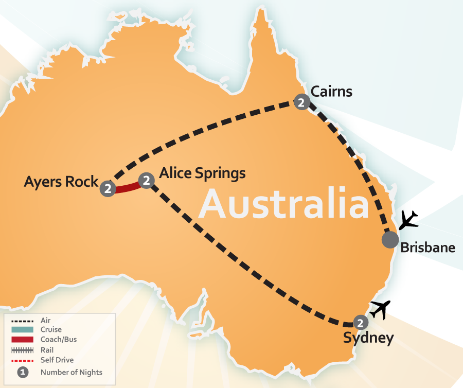 Where Is The Outback In Australia On A Map.Australian Outback Travel Deal Reef Outback Sydney Special