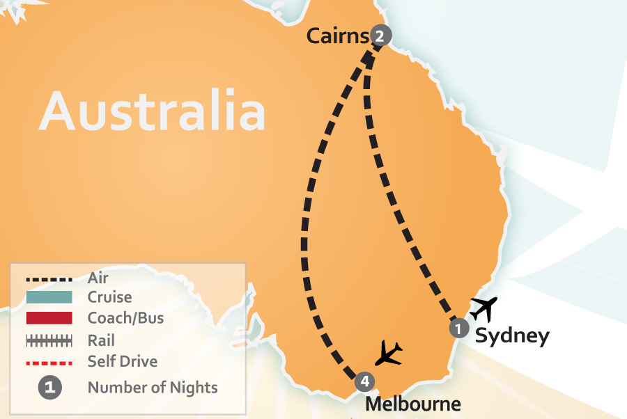Australian Vacation Deal to Melbourne