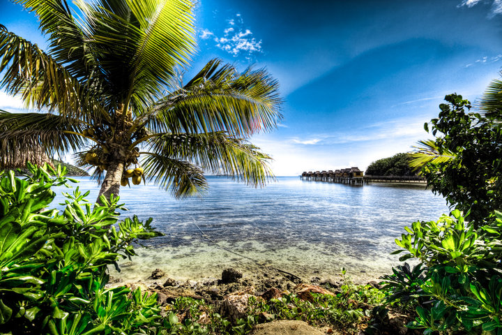 Idyllic luxury destination for your romantic Fiji vacation