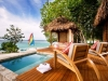Romantic Fiji Vacations - Overwater Bure Plunge Pool Deck View