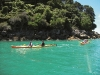 Exploring the Abel Tasman by kayak in New Zealand