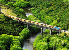 Taire Train, Dunedin, New Zealand