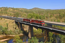The Ghan, Alice Springs, Australia