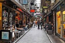 Flinders Lane Melbourne