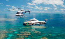 Great Barrier Reef Helicopter, Cairns, Australia