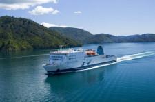 Ferry to Wellington, Picton, New Zealand