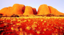 Uluru Sunset & Kata Tjuta, Ayers Rock, Australia