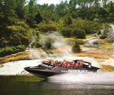 River Jet Thermal Safari, Rotorua, New Zealand