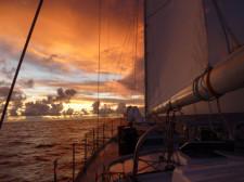 Sunset Sail, Rarotonga, Cook Islands