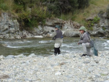Fly Fishing, Queenstown, New Zealand