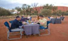 Aussie BBQ, Ayers Rock, Australia