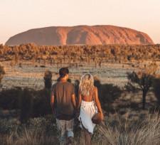 Sunrise, Ayers Rock, Australia