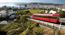 Cable Car, Wellington, New Zealand