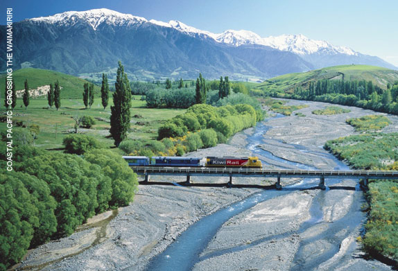 travel by train in New Zealand