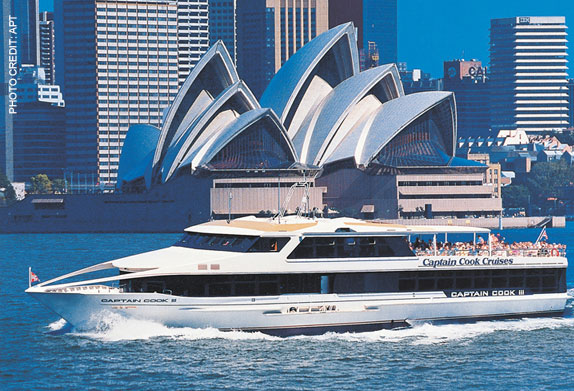 Take a Sydney Harbour cruise on your Australia vacation