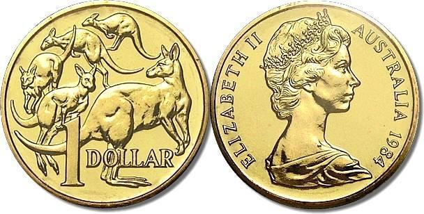 Australia 1 Dollar Coin