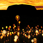 Field of Light at Uluru for a limited time