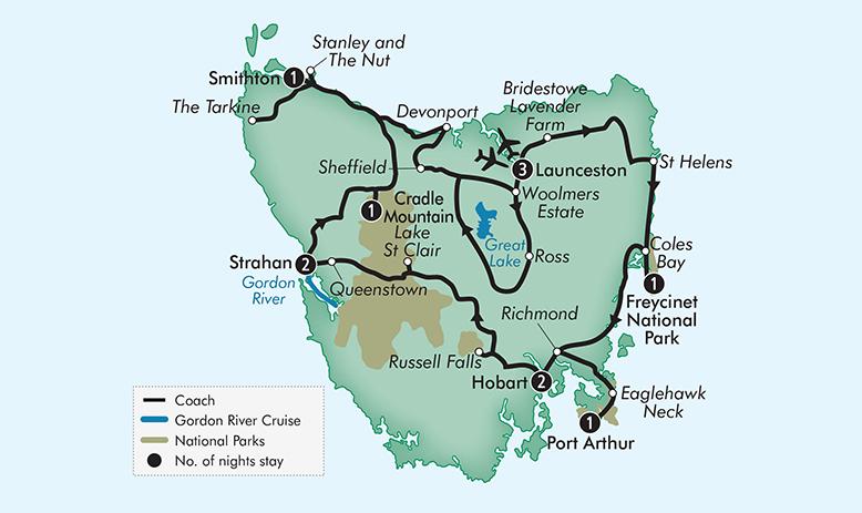 australian royal tasman tour rt12