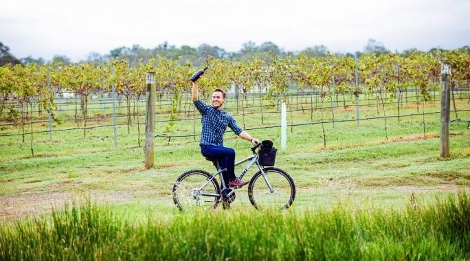 Cycling Hunter Valley