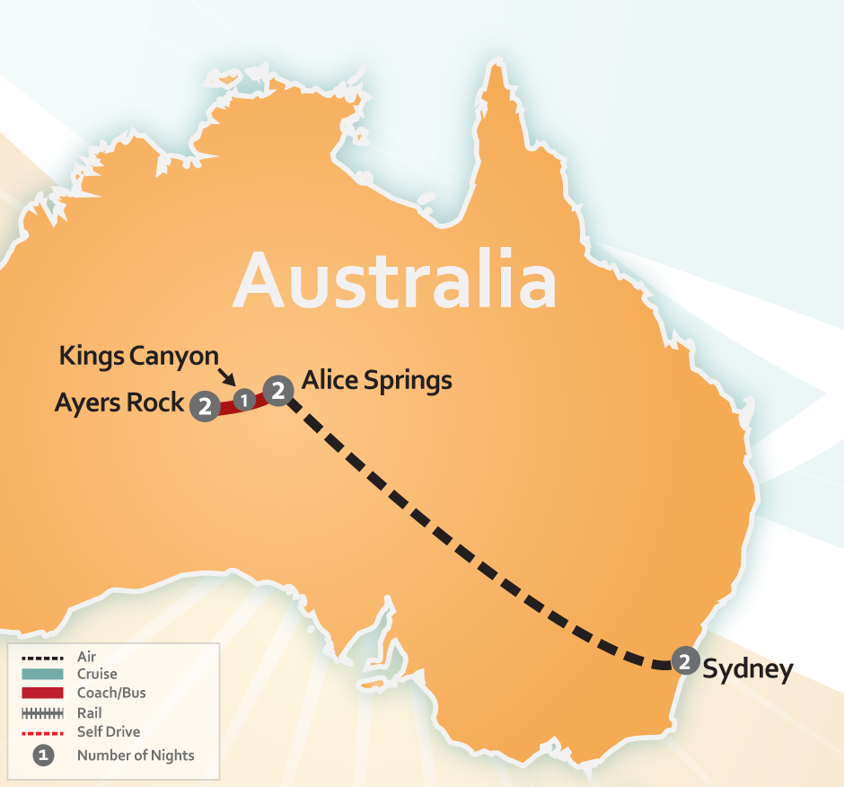 Australian Outback Uluru Special Tour Ayers Rock Amp Sydney