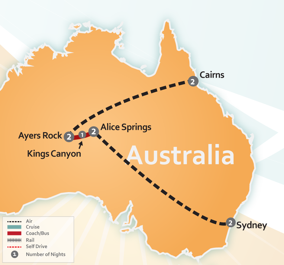 Australian Outback Uluru Special Tour Ayers Rock
