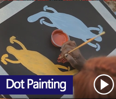 Maruku Arts Dot Painting Workshop provides a fun introduction to local Indigenous Art. Anangu paintings are created for educational and ceremonial purposes as well as telling of events that have occurred. Join local Indigenous artists and learn about the