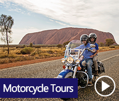 Outback Motorcycle Tours Explore the scenic wonders of Uluru-Kata Tjuta National Park home to the iconic Uluru / Ayers Rock, the great rock domes of Kata Tjuta / The Olgas and the informative Uluru-Kata Tjuta Cultural Centre or the impressive Kings Canyon