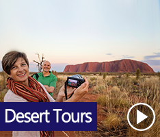 Desert Awakening Tour. On your vacation explore the fascinating surroundings of Australia's Red Centre. Watch the sunrise over Uluru, enjoy breakfast and be sure to snap a few great photos. Afterwards, visit the Cultural Centre.