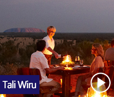 'Tali Wiru', meaning beautiful dune in local Anangu language, encapsulates the magic of fine dining under the Southern Desert sky.