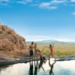 Swimming hole in Kakadu National Park