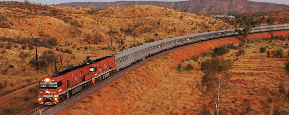 The Ghan Amazing Train Adventure