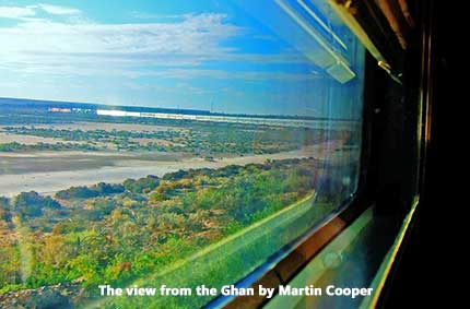 The View from The Ghan