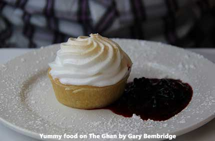 Amazing Food on the Ghan by Gary Bembridge