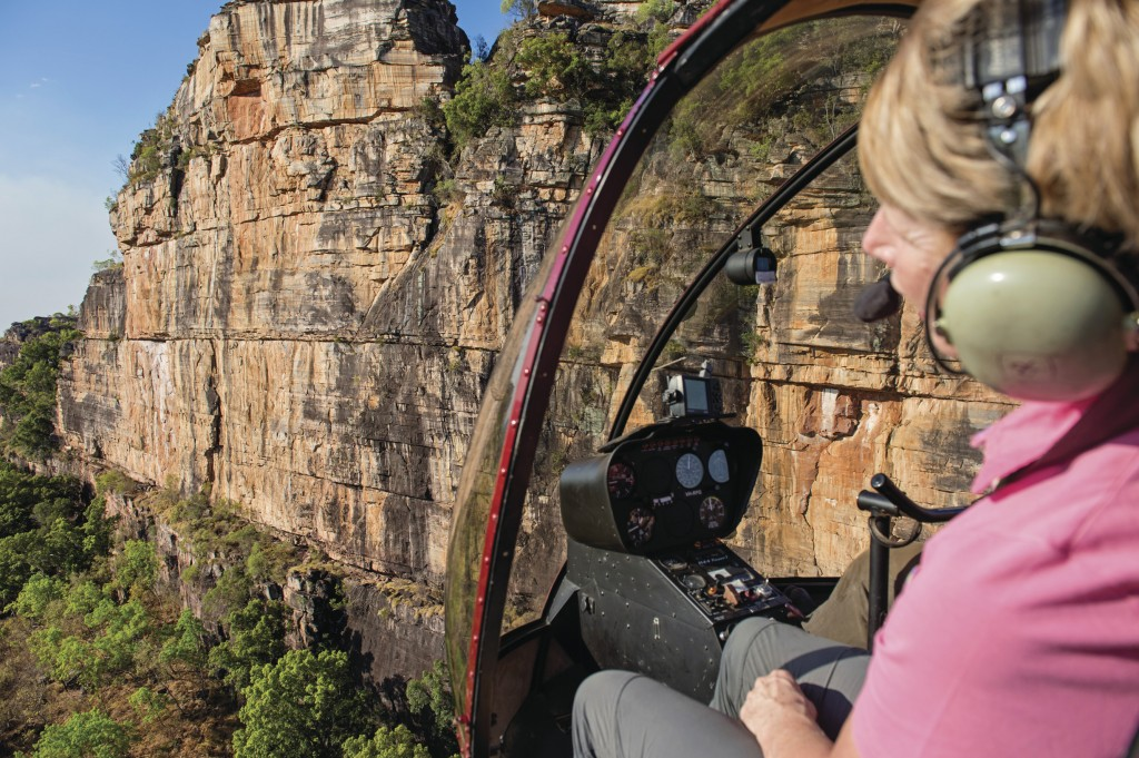 Helicopter Flight over Kakadu National Par