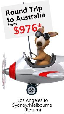 Fly To Australia Airfare Special