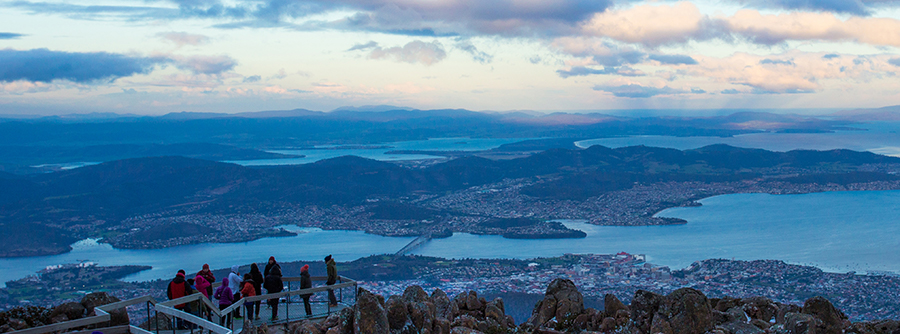 Mt Wellington Lion filming location