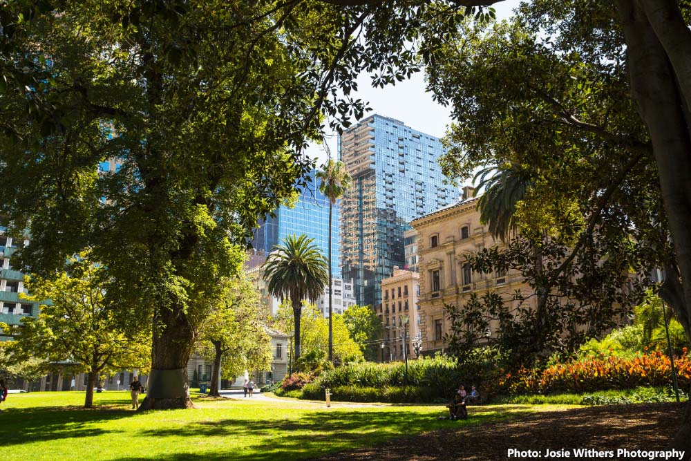Melbourne Australia Green Spaces and Gardens
