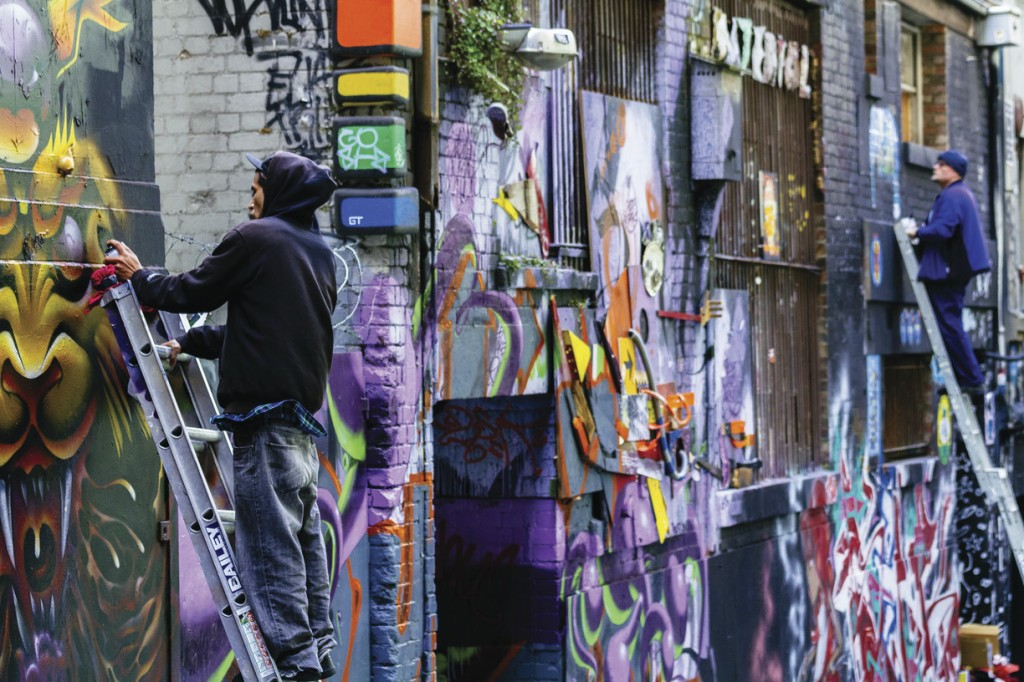 Melbourne Laneways and Arcades