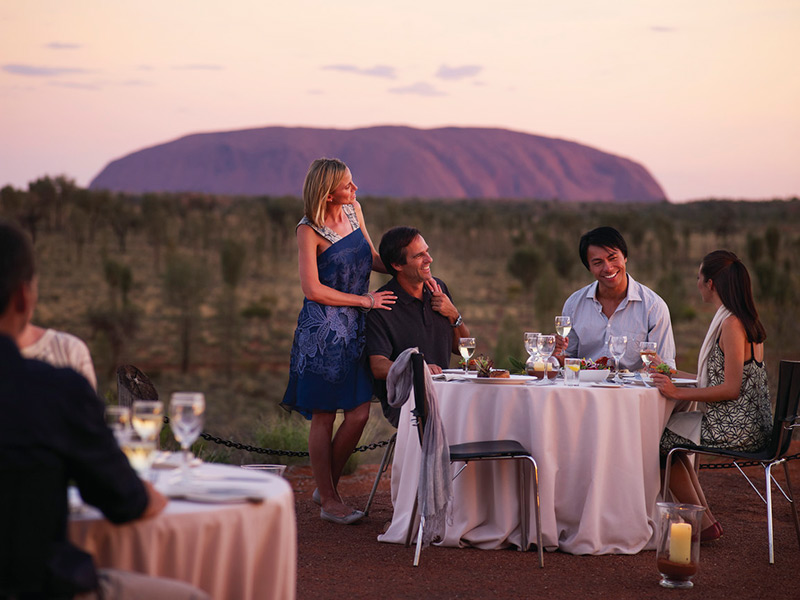 Sounds of Silence Dinner Uluru National Park