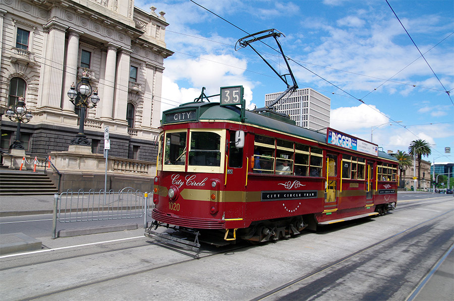 Free Melbourne City Circle Tram