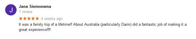 About Australia Reviews 5