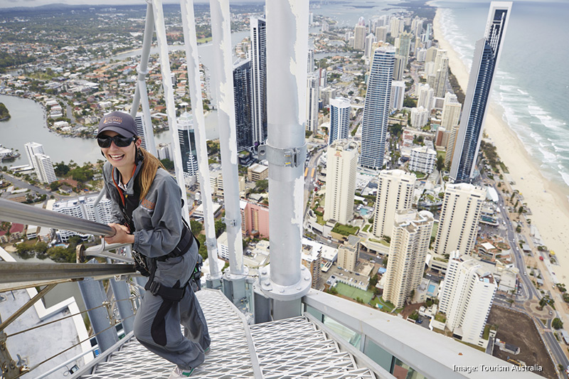 Q1 SkyPoint Climb, Gold Coast