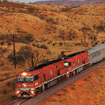 Outback Journey on the Ghan
